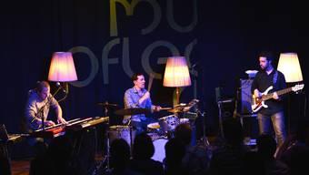 Die Band «Mister Barrington» überzeugte mit innovativen Klängen.