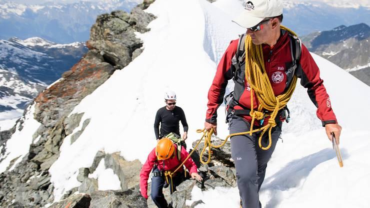 In den Schweizer Bergen sind weniger Personen verunglückt als im Vorjahr.