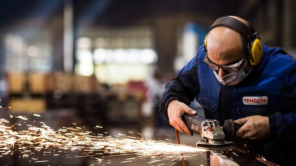 Schweizer Industrie spürt Corona im ersten Quartal
