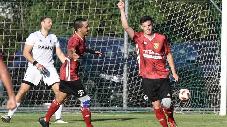 17 Tore in 5 Partien: Die Offensiv-Abteilung beim FC Niederwil ist sehr produktiv.