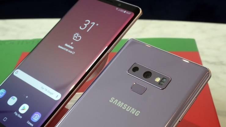 Ein Samsung-Smartphone mit Artificial Intelligence.