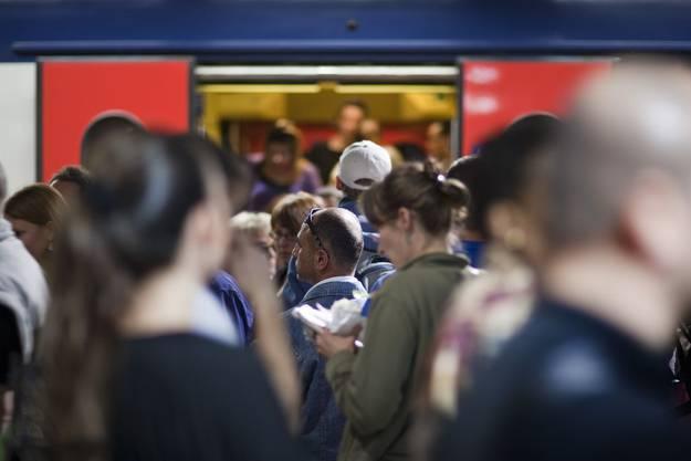 Im ersten Halbjahr wurden laut SBB täglich 1,25 Millionen Passagiere befördert.