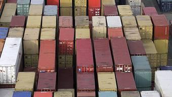 Container bei Rhenus Alpina AG.