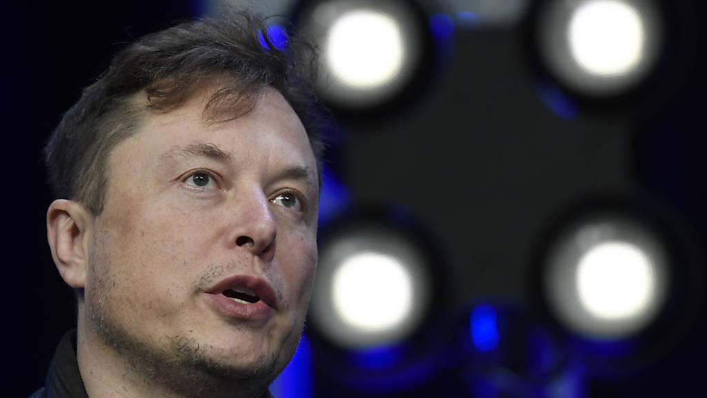 Tesla-Chef Musk schickt Bitcoin auf Dreimonatstief