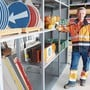 50 Jahre im Dienste Köllikens: Alfred Laubacher im Werkhofgebäude.