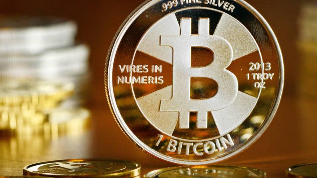 Der Kurs des Bitcoins ist auf rund 14'400 Dollar gestiegen - ein Höchstwert seit langer Zeit. (Archivbild)