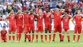 Die Schweizer zitterten beim Penaltyschiessen gegen Polen.