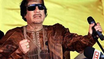 Der libysche Machthaber Gaddafi (Archiv)