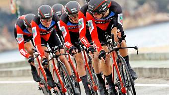 Das BMC Racing Team an der Valencia-Rundfahrt auf dem Weg zum Sieg.