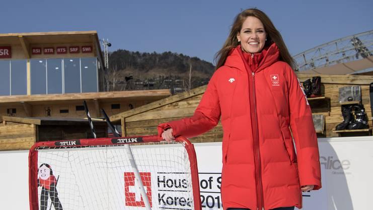 Florence Schelling kommt bereits auf elf WM- und vier Olympia-Teilnahmen.
