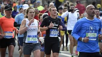 Läufer am New York Marathon. (Symbolbild)