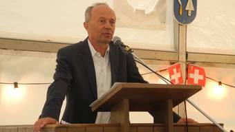 Er sei sicher, dass man diese Klimaerwärmung ernst nehmen müsse, sagte der Zürcher Stadtrat Richard Wolff.