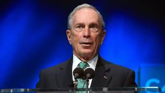 Der frühere New Yorker Bürgermeister Michael Bloomberg kompensiert den Einnahmeausfall, der bei der UNO durch den US-Rückzug vom Klimaabkommen entsteht. (Archivbild)