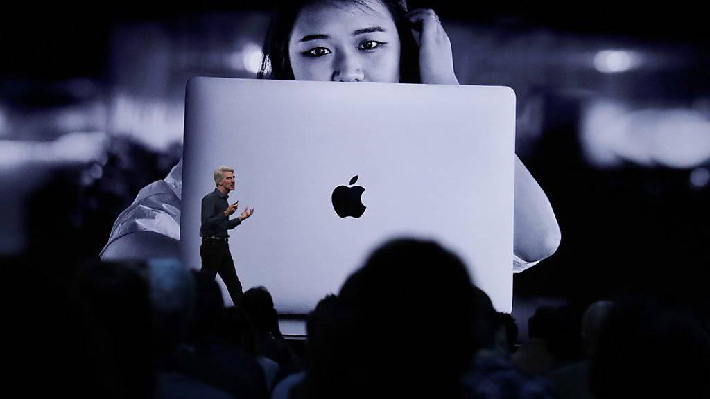 Apple will Nutzer mit Software-Neuheiten anlocken