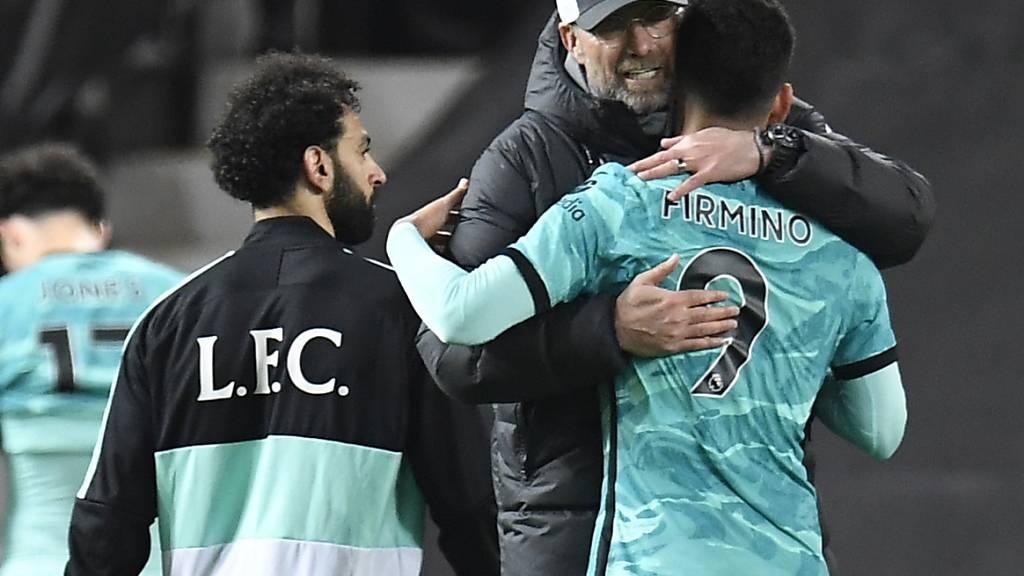 Liverpool hofft nach Sieg bei Manchester United weiter