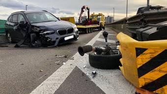 Wegen eines Unfalls auf der Höhe des Stücki-Areals musste die A2 am Samstagnachmittag für zwei Stunden gesperrt werden.