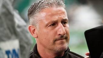 Schwere Schmach für Stuttgarts Trainer Jürgen Kramny