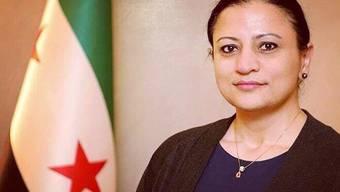 Die syrische Oppositionspolitikerin Dima Moussa.