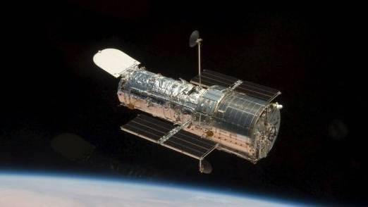 Das Weltraumteleskop Hubble (Symbolbild)