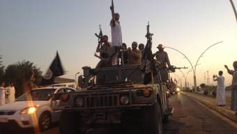 ISIS-Milizen haben in Syrien Zehntausende vertrieben (Archiv)
