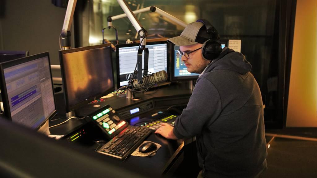 Christian Bisang im Studio