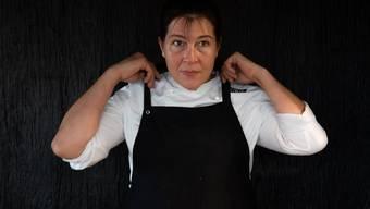 Michèle Meier kocht im KKL-Restaurant Lucie. Sie ist als beste Schweizer Köchin ausgezeichnet.