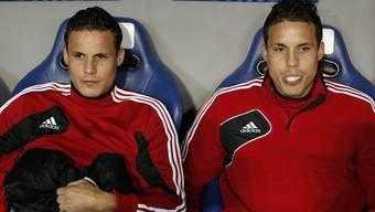 Die Zwillinge Philipp (rechts) und David Degen sind ein Herz und eine Seele.