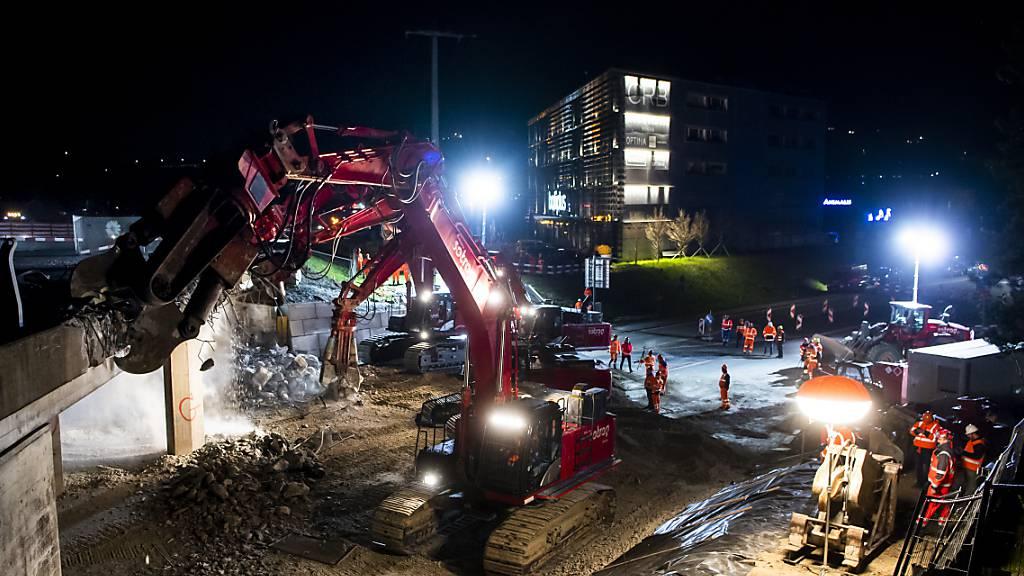 Autobahnkreuz Chexbres in der Waadt wegen Wartungsarbeiten gesperrt