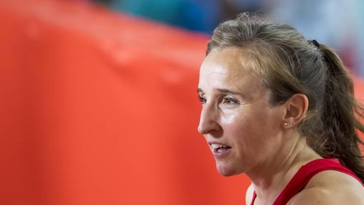 Die Schweizer Rekordhalterin Nicole Büchler hat ihren Rücktritt erklärt