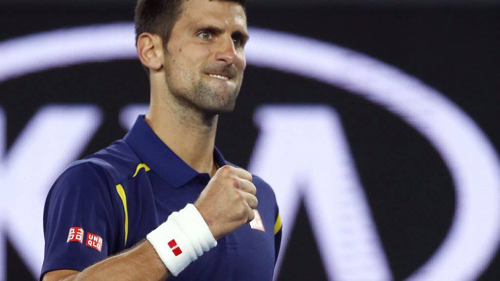 Djokovic machte es gegen Seppi besser als Federer vor einem Jahr - Sieg in drei Sätzen.