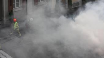 Starke Rauchentwicklung nach Brand in einem Heizungsraum in Nussbaumen (Symbolbild!)