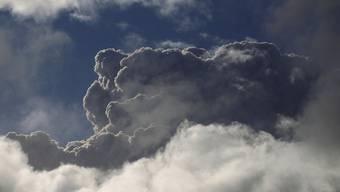 Vulkanasche an Chiles Himmel