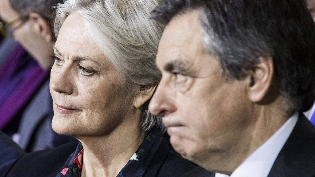 Penelope und François Fillon an einer Wahlveranstaltung Ende Januar in Paris.