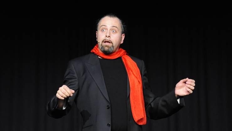 Nach acht Jahren ist der Komiker und Zauberer Michel Gammenthaler wieder Gast im Kleintheater Grenchen. Eine Perle im abgespeckten Grenchner Veranstaltungskalender.