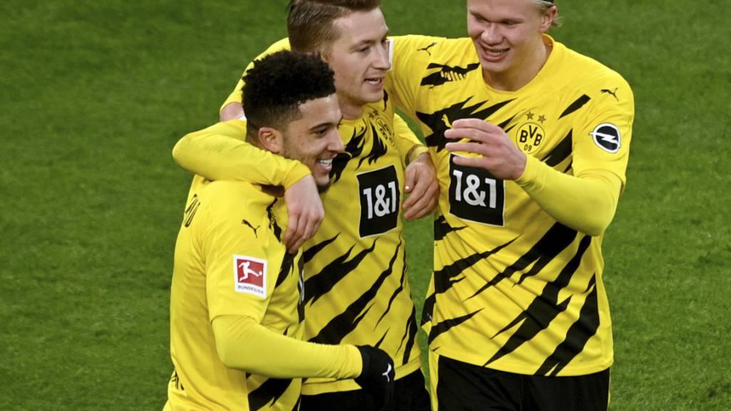 Bayern und Leipzig setzen sich ab - Dortmund wieder mittendrin