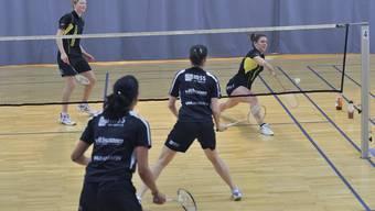 Unter anderem werden die Kinder beim «Open Sunday Olten» auch Badminton spielen.