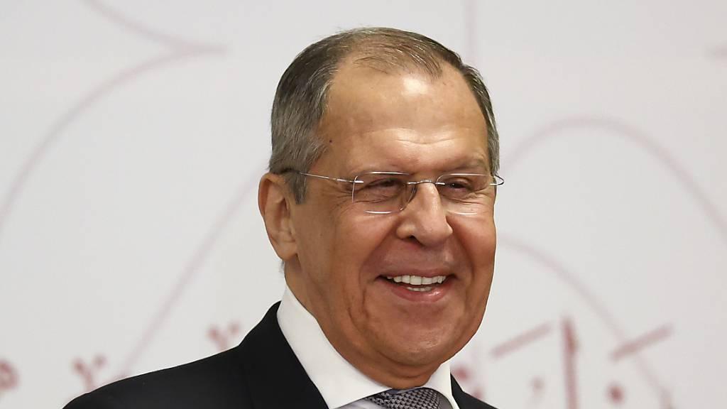 Russlands Aussenminister Lawrow zu Gesprächen in China