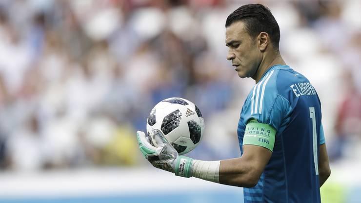 Essam El Hadary hielt in der ersten Halbzeit einen Penalty von Saudi Arabien. Den zweiten Penalty musste er aber passieren lassen.