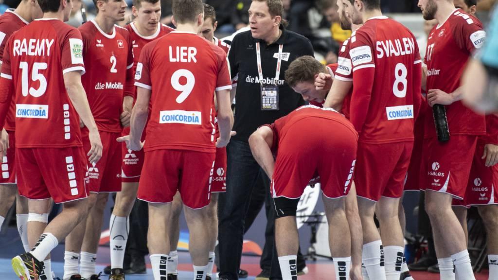 Schweizer Handballer scheiden an EM aus