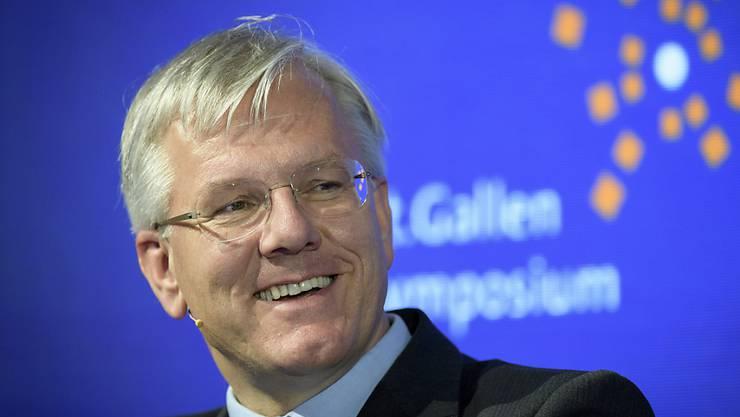 Roche-Präsident Christoph Franz wirbt für gute Beziehungen und entsprechende Verträge mit der EU.