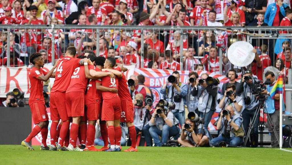 Siebter Meistertitel in Folge für Bayern München