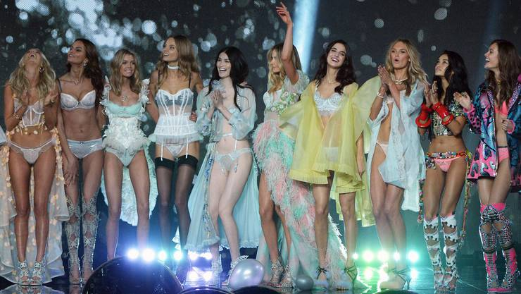 Stilecht: Victoria's Secret-Models.