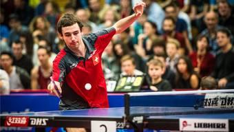 Ein starker Auftritt, der Hoffnung macht: Lionel Weber erreichte in Lausanne die Hauptrunde.züst