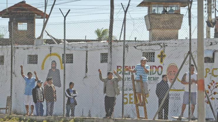 Das Palmasola ist vollkommen überfüllt: Im «Rehabilisationszentrum» genannten Gefängnis wohnen achtmal mehr Häftlinge als ursprünglich geplant. (Archiv)