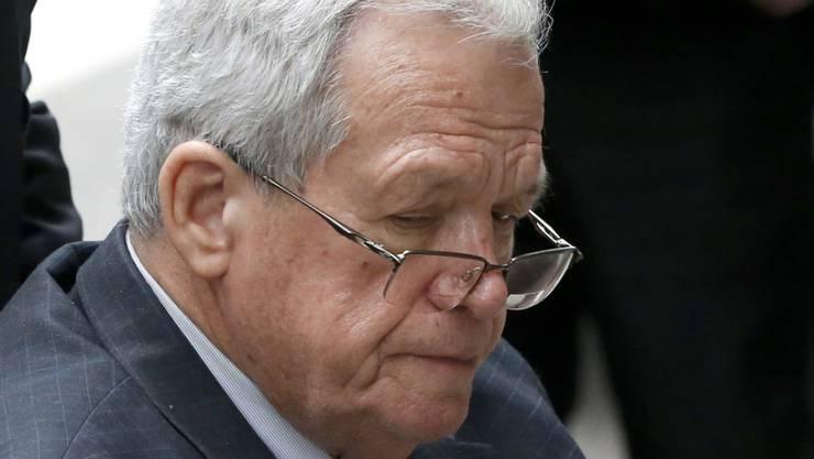 Gehörte einst zu den mächtigsten Politikern in Washington: der frühere Vorsitzende des US-Repräsentantenhauses, Dennis Hastert.