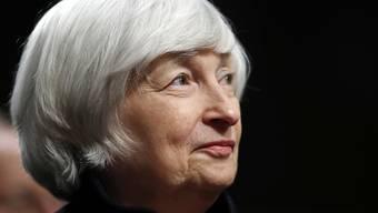 Die scheidende Chefin der US-Notenbank Fed, Janet Yellen, wechselt wie schon ihr Vorgänger zu dem Thinktank Brookings. (Archivbild)