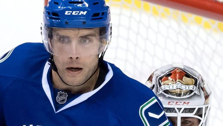 Der neue HCD-Stürmer Tuomo Ruutu stand in der Saisonvorbereitung für die Vancouver Canucks im Einsatz