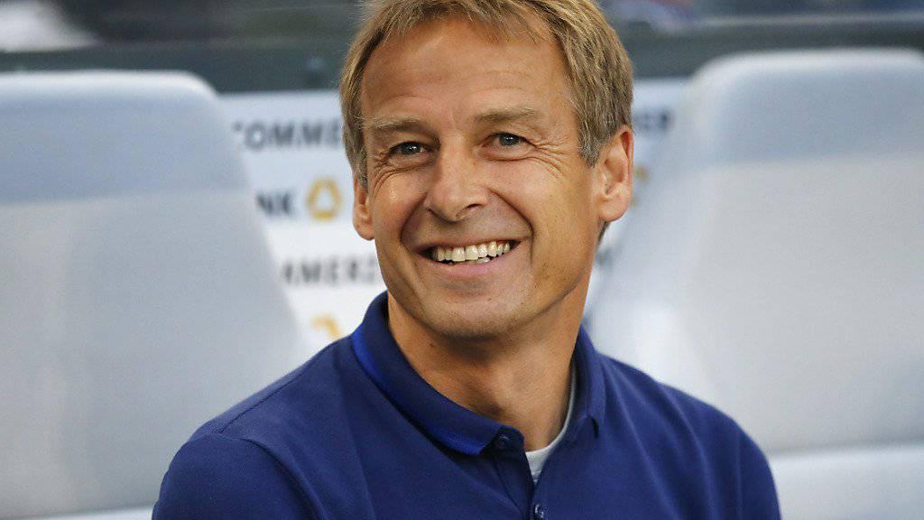 Kein Grund mehr zum Lachen: Jürgen Klinsmann wurde als Trainer der US-Nationalmannschaft entlassen