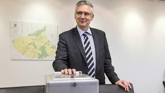 Gemeindeammann von Oberwil-Lieli sowie SVP-Nationalrat: Andreas Glarner ist der neue Asylverantwortliche bei der SVP. Er setzt auf systematische Grenzkontrollen. (Archivbild)