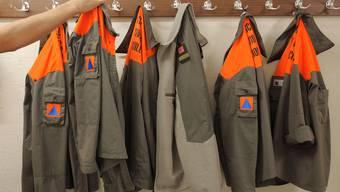 Verweigerung: Geht es nach den Badener Zivilschützern, brauchen sie ihre Uniformen am Eidgenössischen Schützenfest nicht. (ti-press)